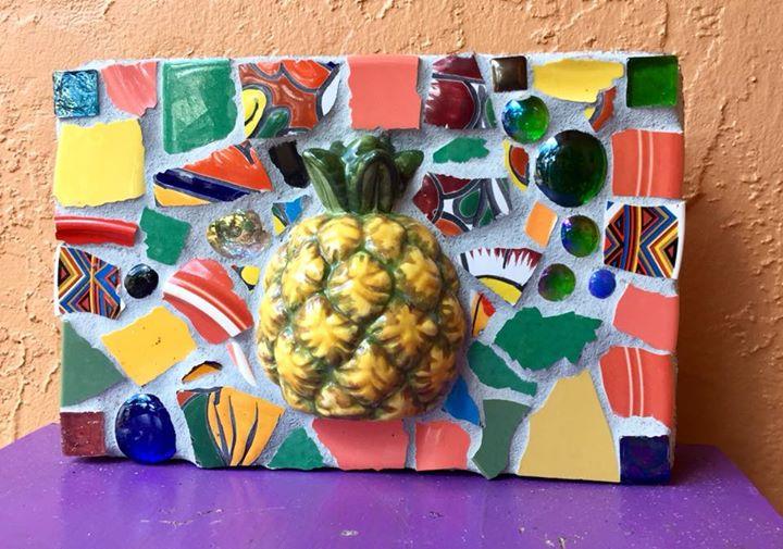 Mosaic Garden Art Paver